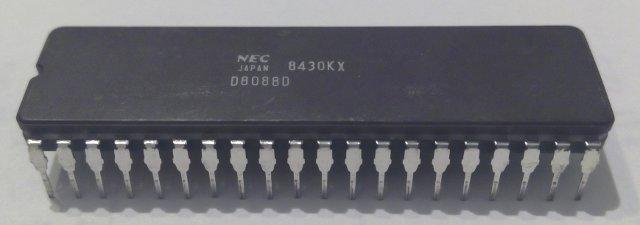 NEC 8088 CPU